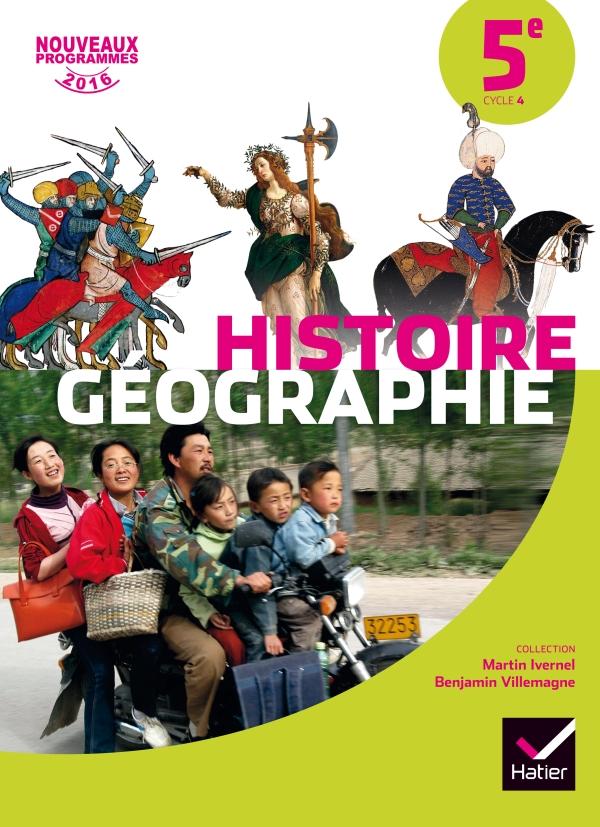 Histoire Geographie Emc 5e Ed 2016 Manuel De L Eleve