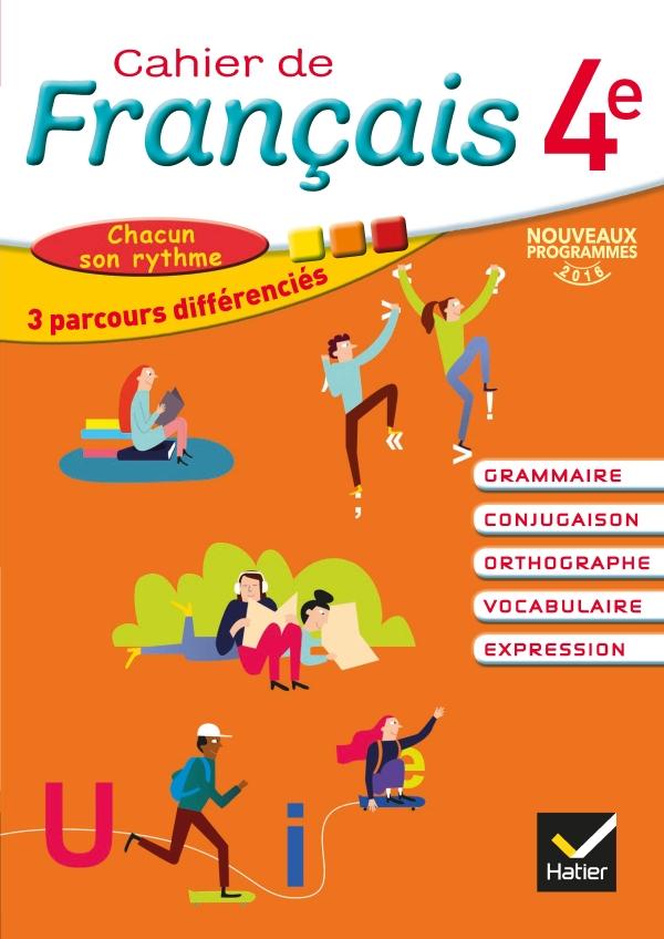 Cahier De Francais 4e Ed 2016 Cahier De L Eleve