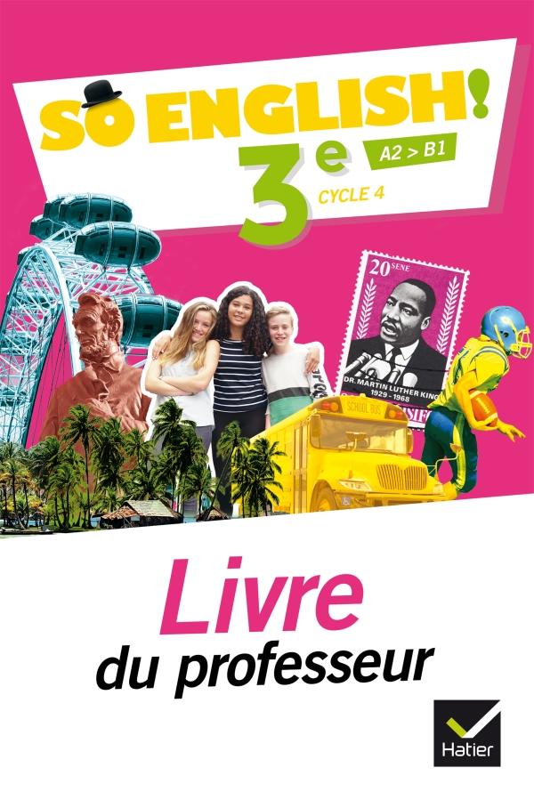 So English Anglais 3e Ed 2017 Livre Eleve Editions