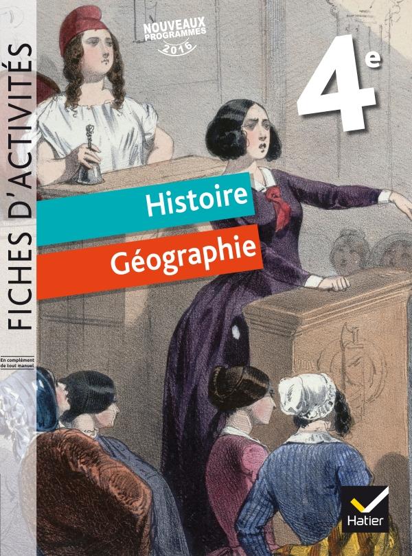 Histoire Geographie 4e Ed 2016 Manuel De L Eleve