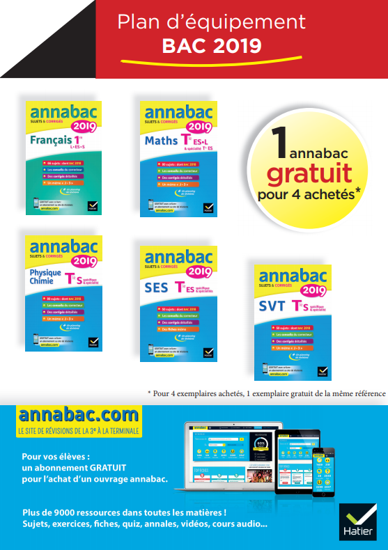 Offre bac brevet annabac