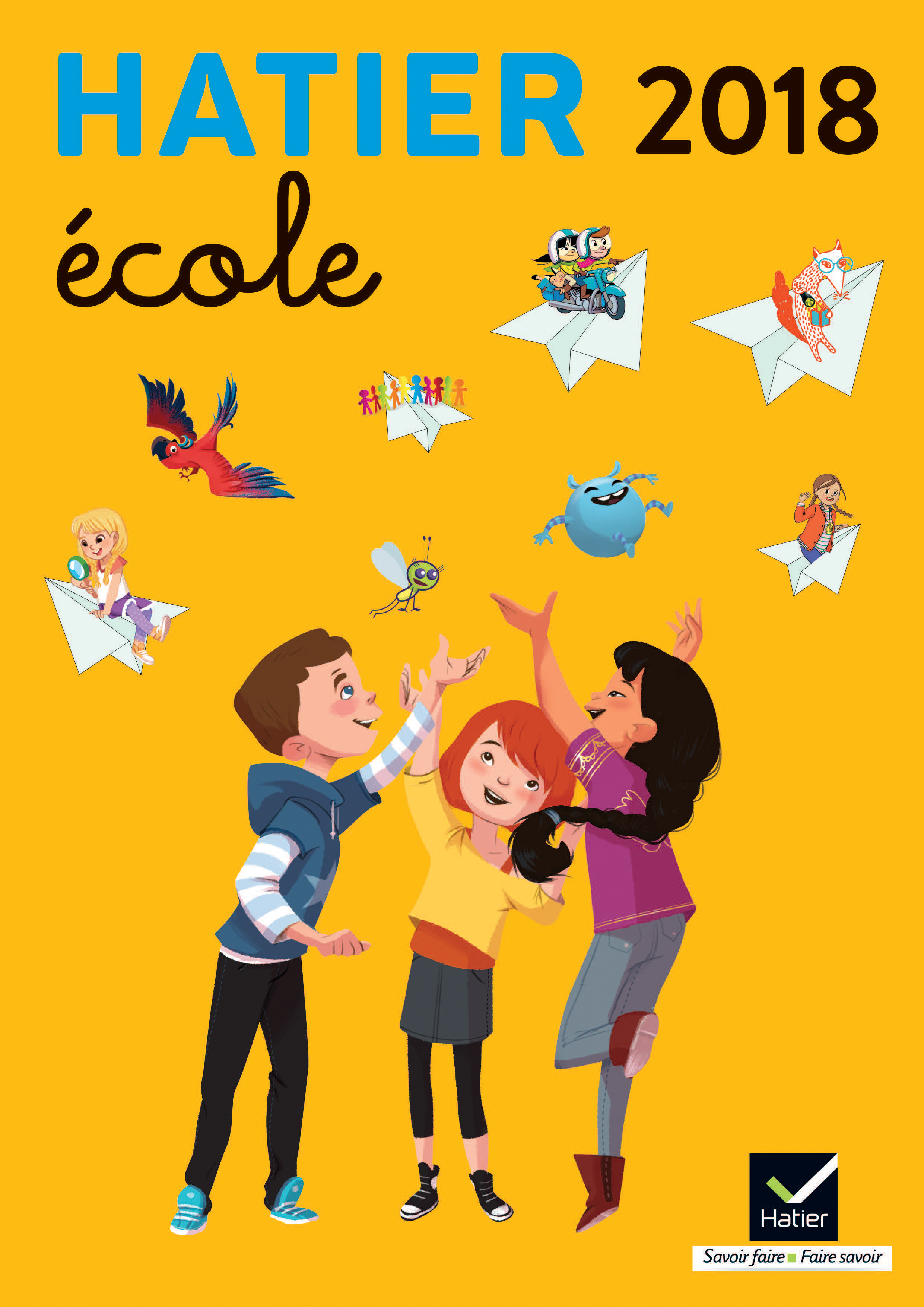 Catalogue Hatier Ecole 2018