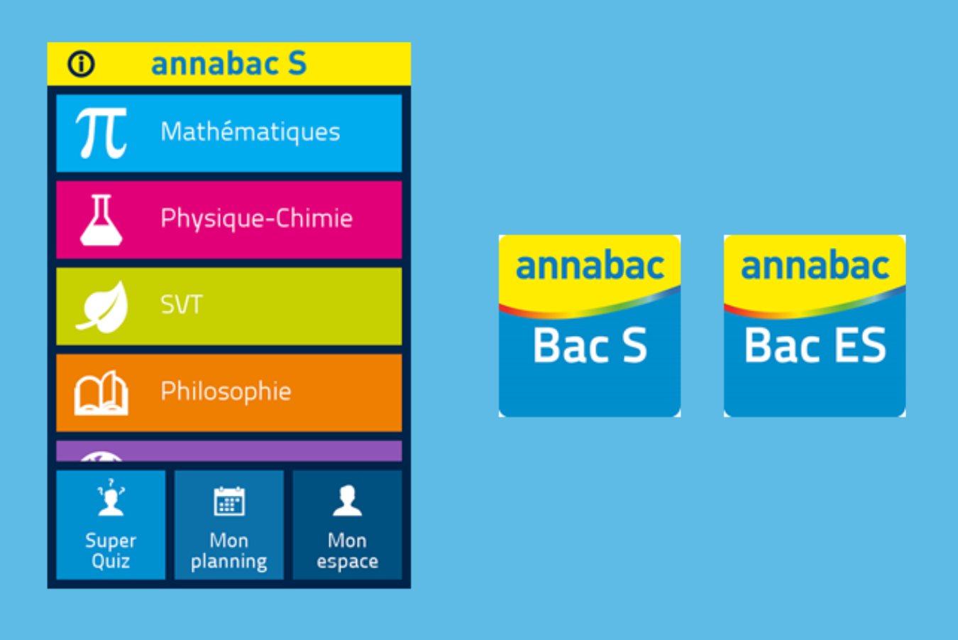 Applications Annabac S et ES