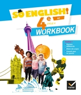 So English! - Anglais 4e Éd. 2017 - Workbook numérique enrichi