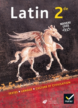 Latin 2de Ed 2019 Livre De L Eleve Editions Hatier
