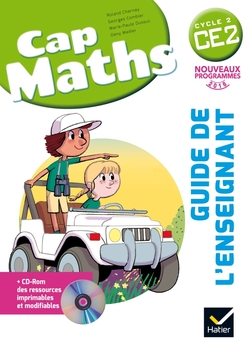 Cap Maths CE2 éd. 2016 - Guide de l'enseignant + CD Rom