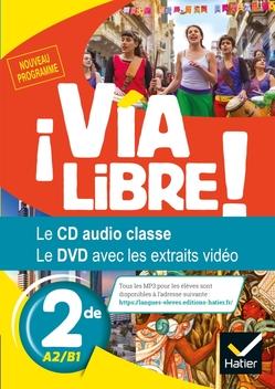 Via Libre Espagnol Seconde Ed 2019 Cd Audio Et Dvd