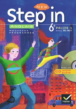 New Step In Anglais 6e Livre De L Eleve Cd Audio Ed