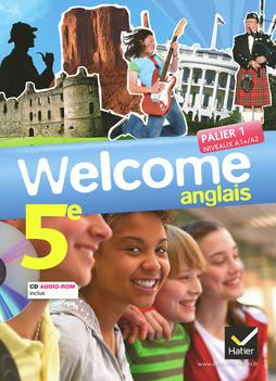 Welcome Anglais 5e Ed 2012 Manuel De L Eleve Cd Audio