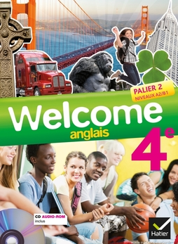 Welcome Anglais 4e Ed 2013 Manuel De L Eleve Cd Audio