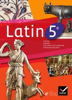 Latin 5e Ed 2010 Manuel De L Eleve Editions Hatier