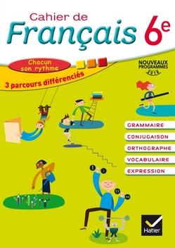 Cahier De Francais 6e Ed 2016 Cahier Numerique Enrichi