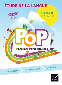 Pop Parcours Personnalises Etude De La Langue Cycle 3 Ed