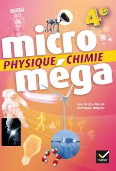 Micromega Physique Chimie 4e Ed 2017 Livre Eleve