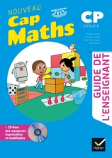 CAP MATHS CP Ed. 2019 Guide pédagogique + CD Rom