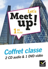 Let's Meet up ! - Anglais 1re Éd. 2019 - Coffret CD DVD