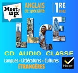 Let's Meet up ! - Anglais 1re Éd. 2019 - Coffret CD Classe LLCE