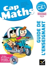 Cap Maths CE1 éd. 2016 - Guide de l'enseignant + CD Rom