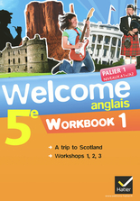 Welcome Anglais 5e éd. 2012 - Workbook (en 2 volumes)