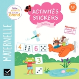 Activités stickers - Chiffres Moyenne section