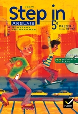 New Step In Anglais 5e - Livre de l'élève + CD audio-rom, éd. 2007