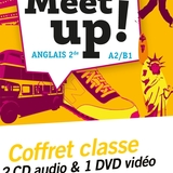 Let's Meet up ! - Anglais 2de Éd. 2018 - Coffret CD/DVD