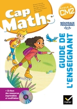 CAP Maths CM2 Éd. 2017 - Guide pédagogique + CD-Rom